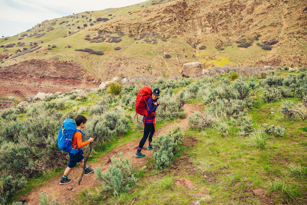 How To Have a Successful First Backpacking Experience with Your Child